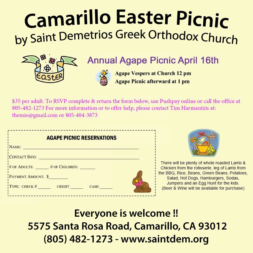 [Easter Picnic in Camarillo, California]