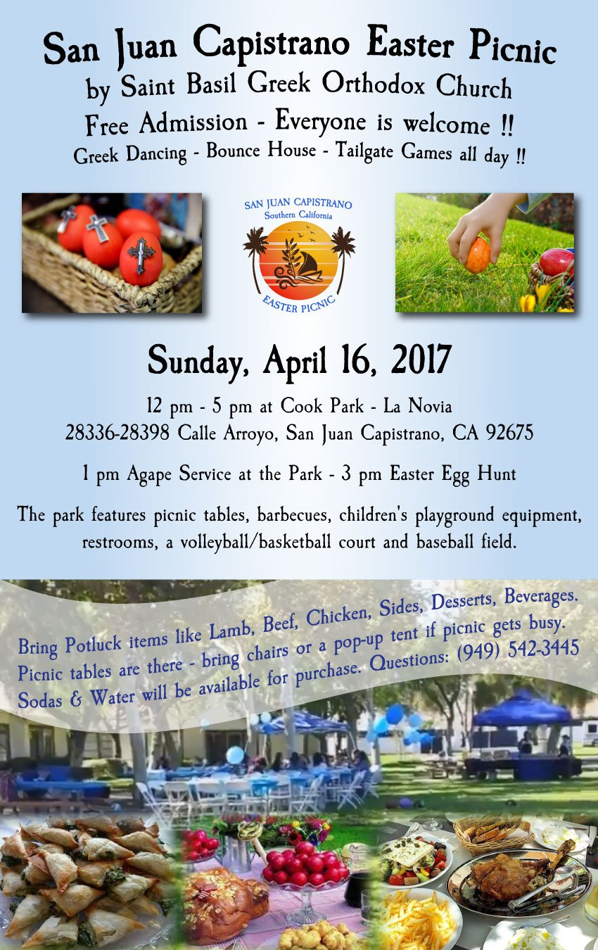 [Easter Picnic in San Juan Capistrano, California]