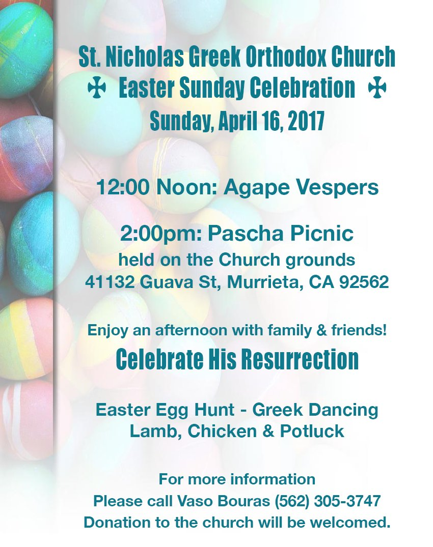 [Easter Picnic in Temecula, California]