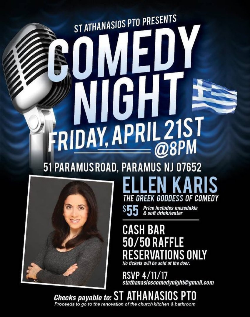[Ellen Karis Comedy Night in Paramus, New Jersey]