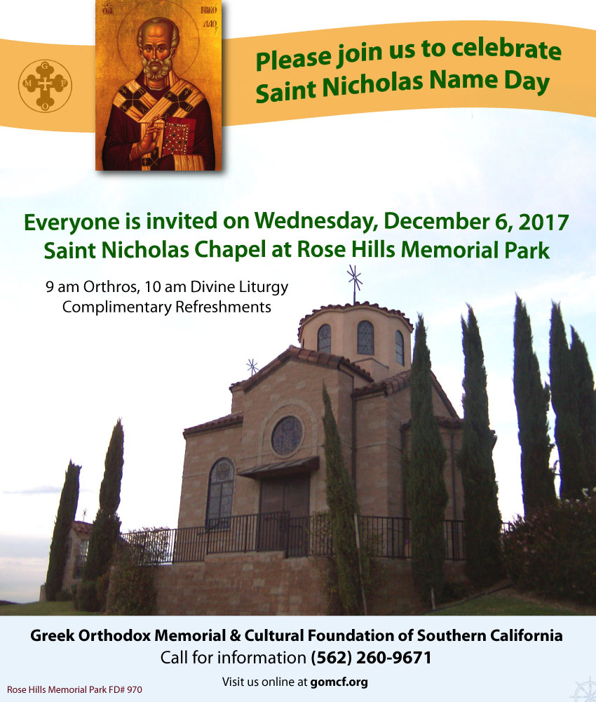 [Saint Nicholas Name Day Celebration in Whittier, California]