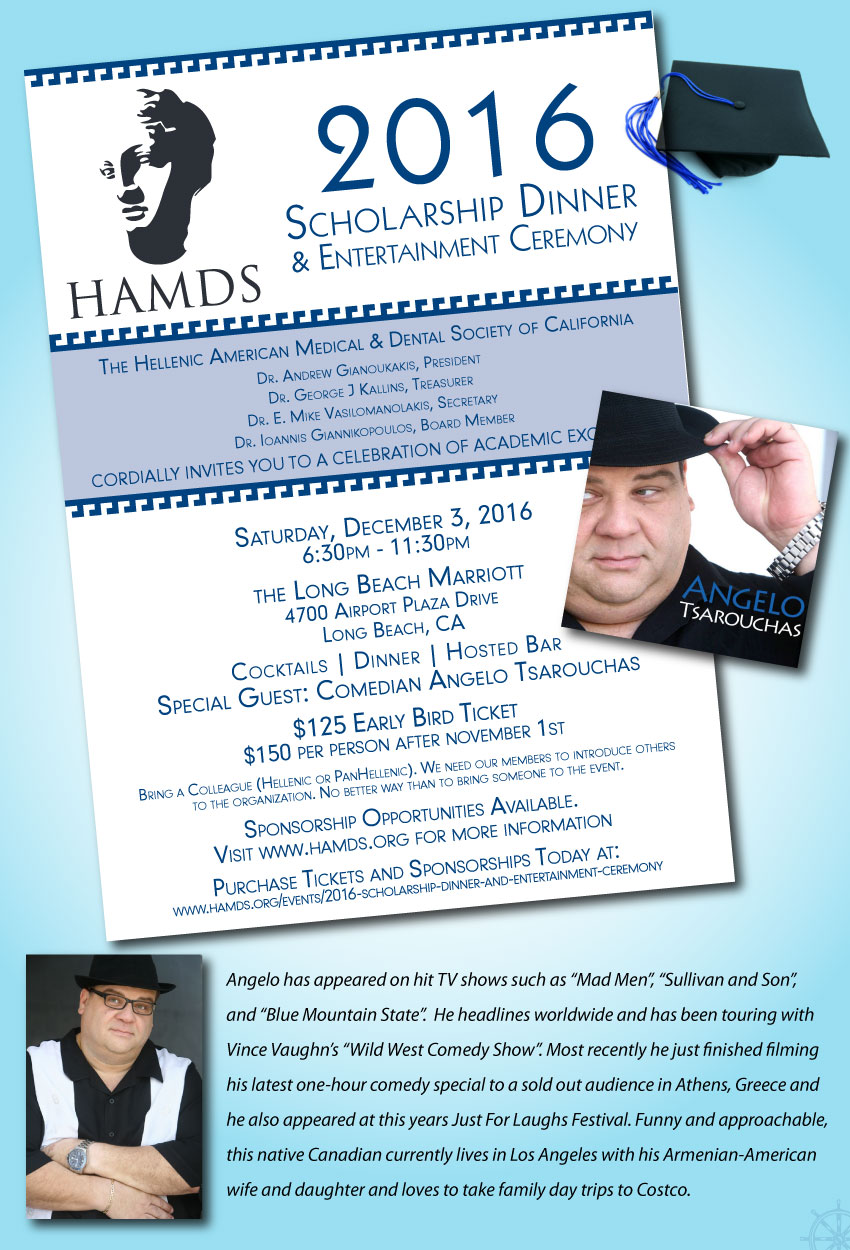 [HAMDS event with Angelo Tsarouchas and Synthesi music in Long Beach, California]