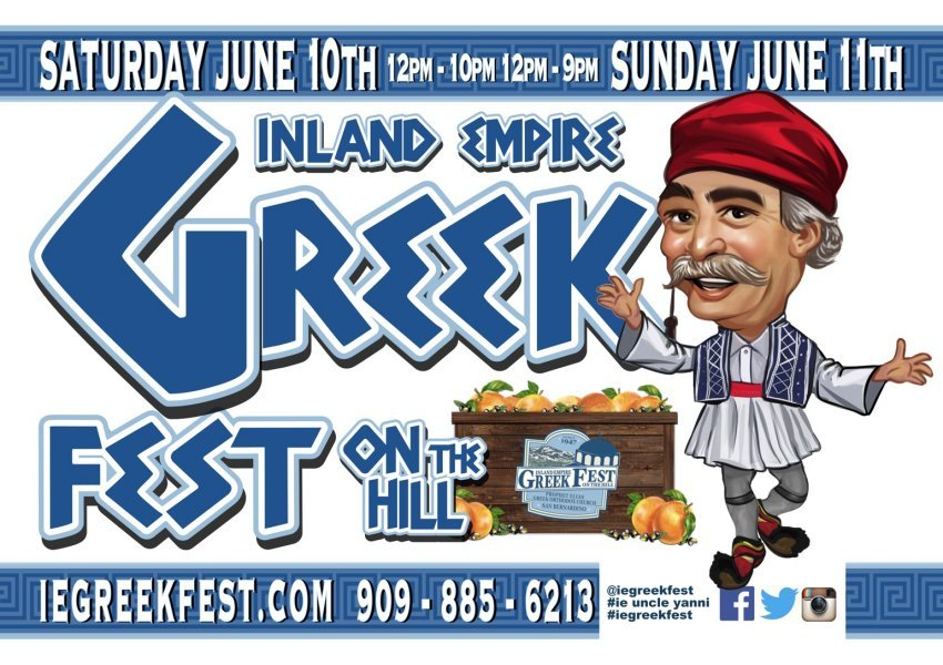 [Inland Empire Greek Festival in San Bernardino, California]