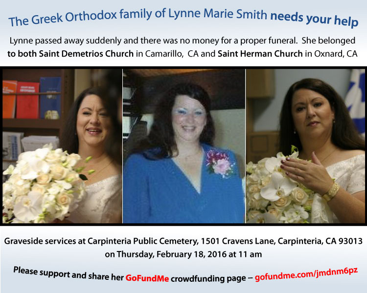[Lynne Marie Smith Memorial - GoFundMe Crowdfunding Campaign]