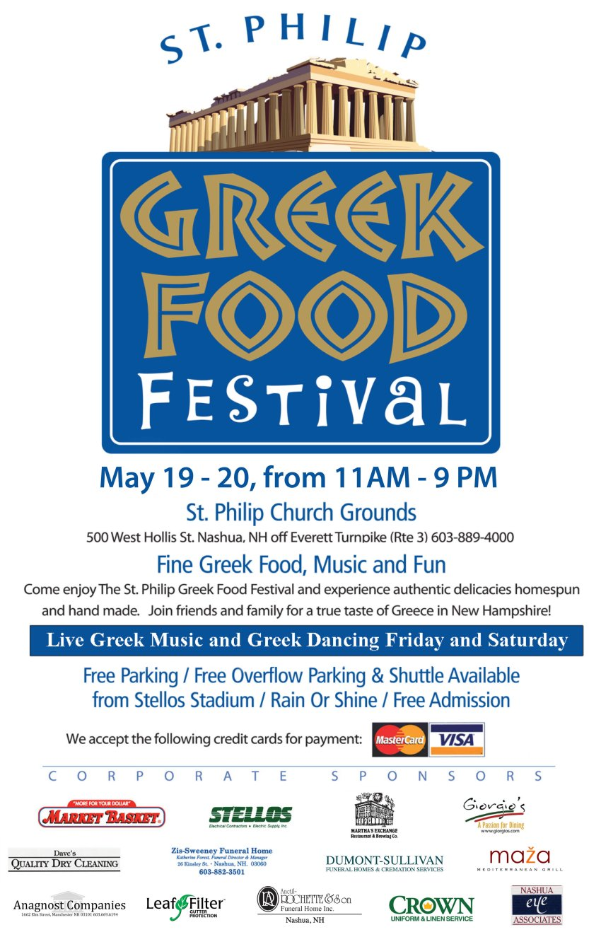 [Nashua Greek Festival in Nashua, New Hampshire]