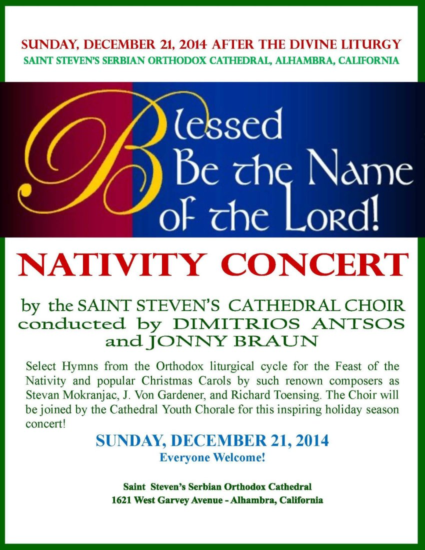 [Cathedral Nativity Concert]