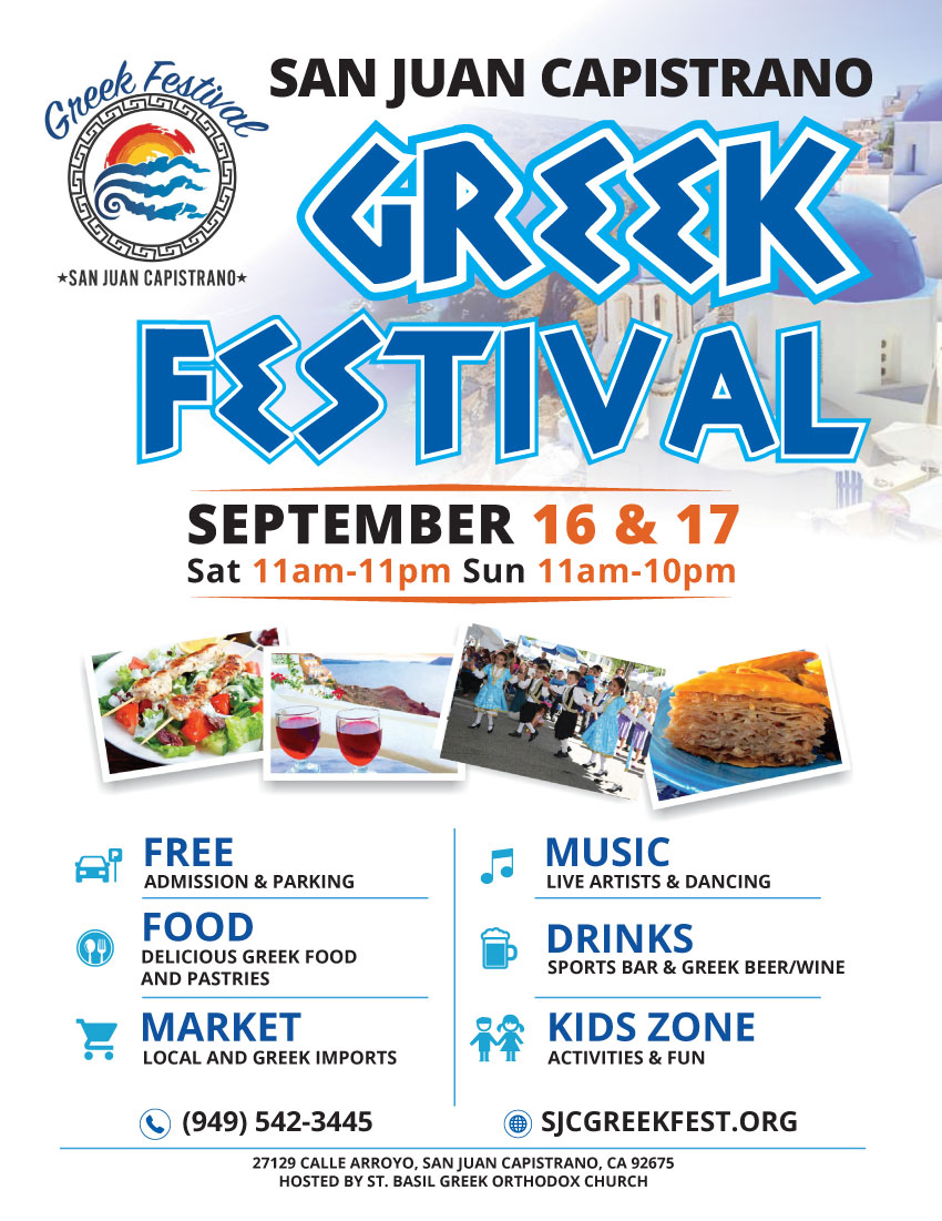 [San Juan Capistrano, California Greek Festival]