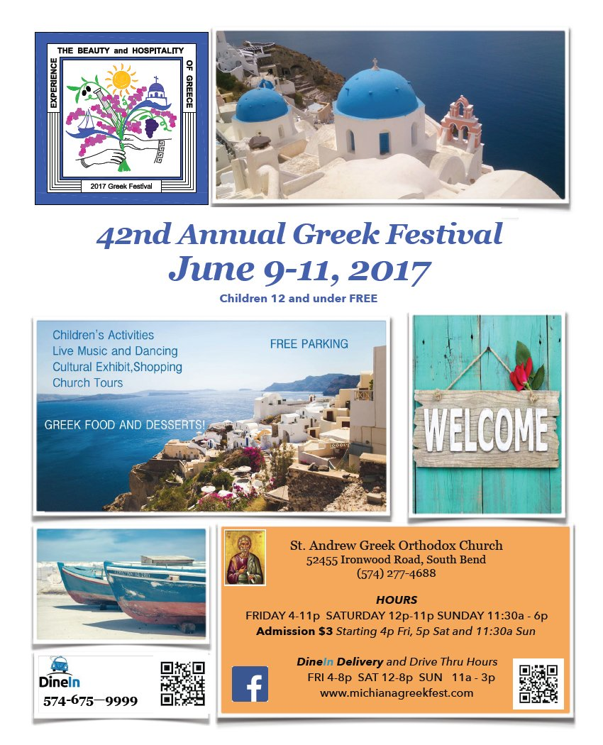 [Michiana Greek Festival in South Bend, Indiana]