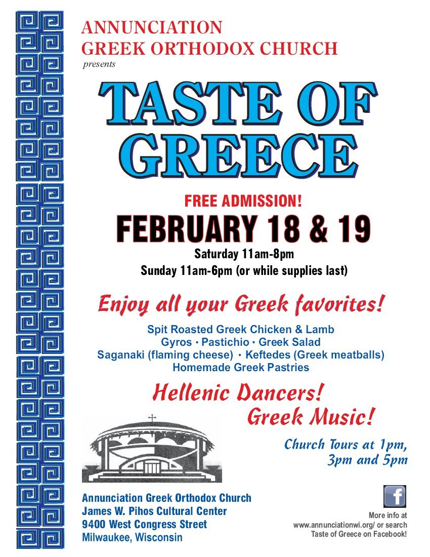 [Taste of Greece in Milwaukee, Wisconsin]