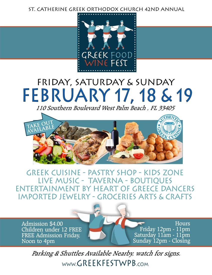 [Greek Festival in West Palm Beach, Florida]